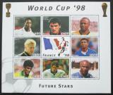 Poštovní známky Ghana 1997 MS ve fotbale Mi# 2586-93