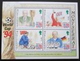 Poštovní známky Montserrat 1994 MS ve fotbale Mi# Block 67