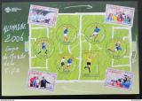 Poštovní známky Francie 2006 MS ve fotbale Mi# 4069-78 Arch