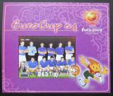 Poštovní známka Gambie 2004 ME ve fotbale Mi# Block 670