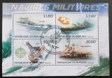 Poštovní známky Burundi 2012 Válečné lodě Mi# 2873-76