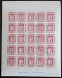Viněta Německo 1978 Novotisk známky Hamburg Mi# 21