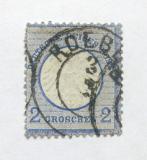 Poštovní známka Německo 1872 Císařský orel Mi# 5
