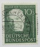 Poštovní známka Německo 1951 Friedrich von Bodelschwingh Mi# 144
