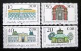 Poštovní známky DDR 1983 Vládní paláce Mi# 2826-29