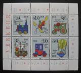 Poštovní známky DDR 1980 Hračky Mi# 2566-71
