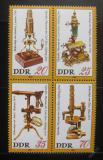 Poštovní známky DDR 1980 Muzeum optiky, Jena Mi# 2534-37