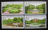 Poštovní známky DDR 1980 Barokní zahrady Mi# 2486-89