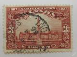 Poštovní známka Kanada 1927 Budova parlamentu Mi# 120