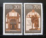 Poštovní známky DDR 1988 Madlerův oblouk Mi# 3153-54