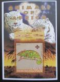 Poštovní známka Malawi 2005 Chameleon obrovský, skauting