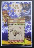Poštovní známka Malawi 2005 Oryx gazella, skauting