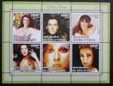 Poštovní známky Pobřeží Slonoviny 2002 Celine Dion, zpěvačka