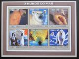 Poštovní známky Mosambik 2002 Lední medvědi neperf. Mi# 2704-09 B