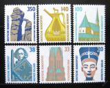 Poštovní známky Německo 1989 Pamětihodnosti ročník Mi# 1398-1401,1406-07 Kat 11€
