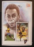 Poštovní známka Gambie 1994 Pelé, Fotbal Mi# Block 237