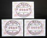 Poštovní známky Švýcarsko 1995 Známky z automatu Mi# 6