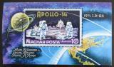 Poštovní známka Maďarsko 1971 Apollo 14 Mi# Block 80