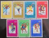 Poštovní známky KLDR 1978 ZOH Innsbruck Mi# 1683-89