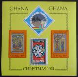 Poštovní známky Ghana 1974 Vánoce Mi# Block 59