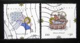 Poštovní známky Německo 1999 Vánoce Mi# 2084-85