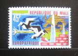 Poštovní známka Mali 1967 Europafrica Mi# 155