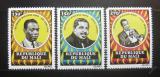 Poštovní známky Mali 1971 Američtí hudebníci Mi# 298-300 Kat 12€