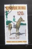 Poštovní známka Mali 1976 Dostihy Mi# 548