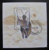 Poštovní známka Tanzánie 1993 Umění Zulu Mi# Block 236