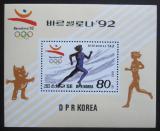 Poštovní známka KLDR 1992 LOH Barcelona Mi# Block 272