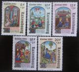Poštovní známky Lucembursko 1986 Miniatury Mi# 1163-67 Kat 12€