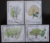 Poštovní známky Lucembursko 1996 Stromy Mi# 1404-07