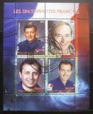 Poštovní známky Kongo 2009 Francouzští kosmonauti