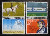 Poštovní známky Švýcarsko 1982 Výročí a události Mi# 1232-35