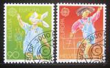 Poštovní známky Švýcarsko 1989 Evropa CEPT Mi# 1391-92