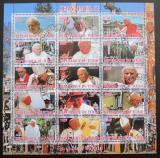 Poštovní známky Čad 2012 Papež Jan Pavel II.