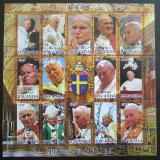 Poštovní známky Rwanda 2012 Papež Jan Pavel II.