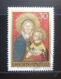 Poštovní známka Lichtenštejnsko 1973 Vánoce Mi# 595