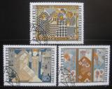 Poštovní známky Lichtenštejnsko 1979 Výšivky Mi# 738-40