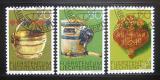 Poštovní známky Lichtenštejnsko 1980 Farmářské nástroje Mi# 747-49