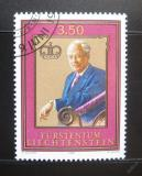 Poštovní známka Lichtenštejnsko 1986 Franz Joseph II Mi# 903