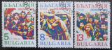 Poštovní známky Bulharsko 1989 Zářiová revoluce Mi# 3775-77