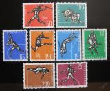 Poštovní známky Jugoslávie 1962 Sporty Mi# 1016-23 Kat 20€