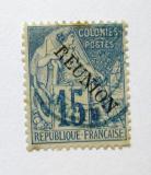Poštovní známka Reunion 1891 Obchod Mi# 22 Kat 6€