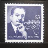 Poštovní známka Rakousko 1980 Leo Ascher, skladatel Mi# 1650