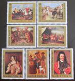 Poštovní známky Maďarsko 1976 Umění Mi# 3108-14 Kat 9.50€