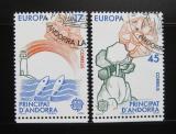 Poštovní známky Andorra Šp. 1986 Evropa CEPT Mi# 188-89