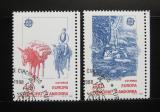 Poštovní známky Andorra Šp. 1988 Evropa CEPT Mi# 200-01