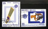 Poštovní známky Andorra Šp. 1991 Evropa CEPT Mi# 221-22