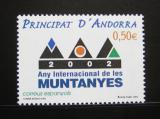 Poštovní známka Andorra Šp. 2002 Mezinárodní rok hor Mi# 289